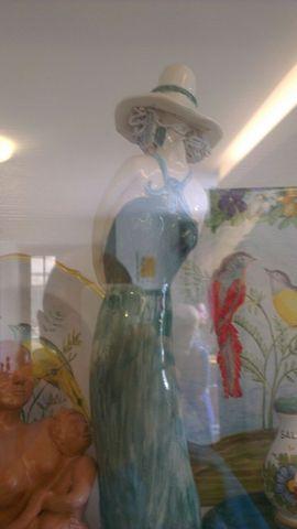 Lavori di Ceramica alla Scampagnata di Primavera della Banca del Tempo Riviera delle Palme a Moresco