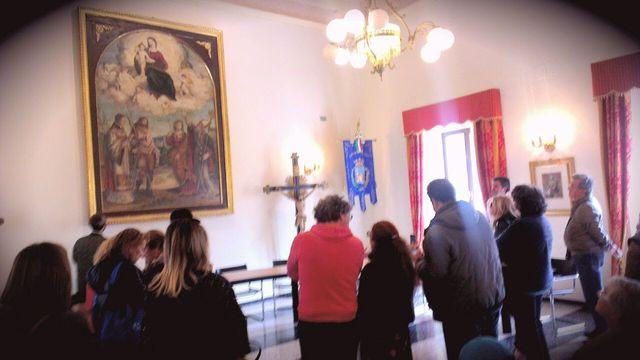 Visita al comune alla Scampagnata di Primavera della Banca del Tempo Riviera delle Palme a Moresco
