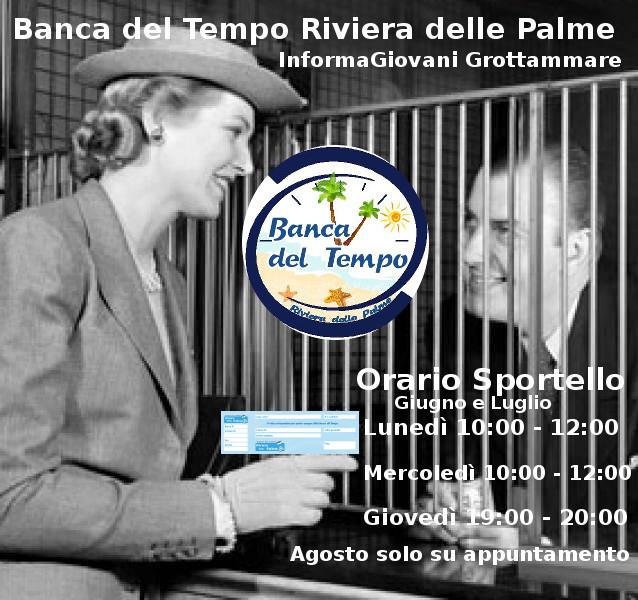 """Sportello della Banca del Tempo """"Riviera delle Palme"""""""