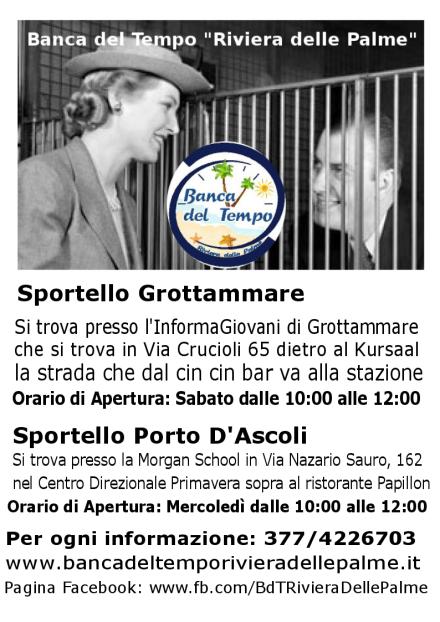 """Sportello Porto D'Ascoli Banca del Tempo """"Riviera delle Palme"""""""