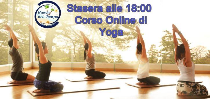 Corso Online di Yoga alla Banca del Tempo Riviera delle Palme