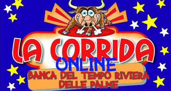 Corrida Online della banca del Tempo Riviera delle Palme